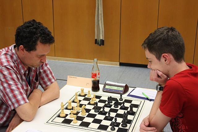 C-Turnier 2011, Runde 7: Norbert Binder - Maximilian Graf