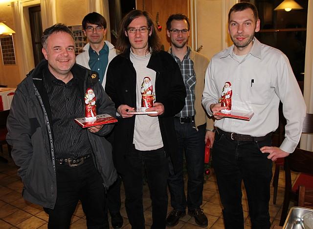 Blitzturnier 2012 - die Sieger