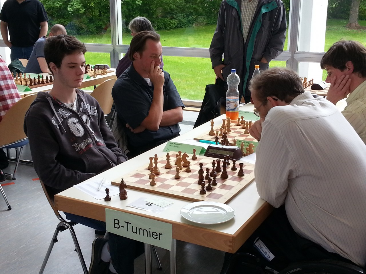 Runde 7: Maximilian Graf gegen Jürgen Viehoff