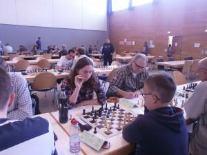 Franziska Fröhlich reif für das B-Turnier