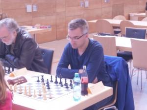Turnierneuling Toni Drianis